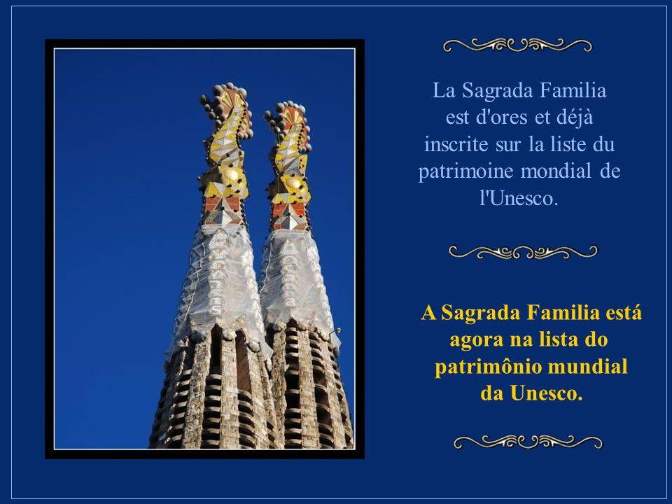 En outre, l'informatique va permettre de mieux interpréter les grandes maquettes élaborées par Gaudi, grâce à un logiciel industriel. Além disso, a in