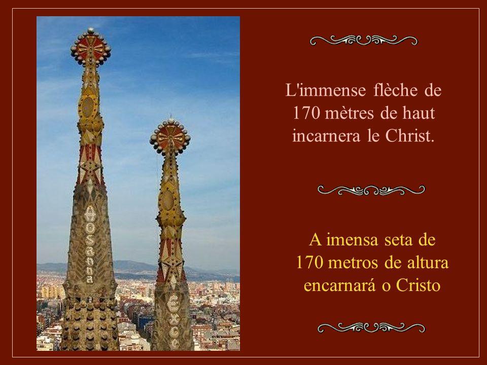 La Sagrada devrait pouvoir accueillir plus de 13 000 personnes, avec les tribunes et les bas-côtés, et un chœur de 1 500 personnes. L'ensemble de l'éd