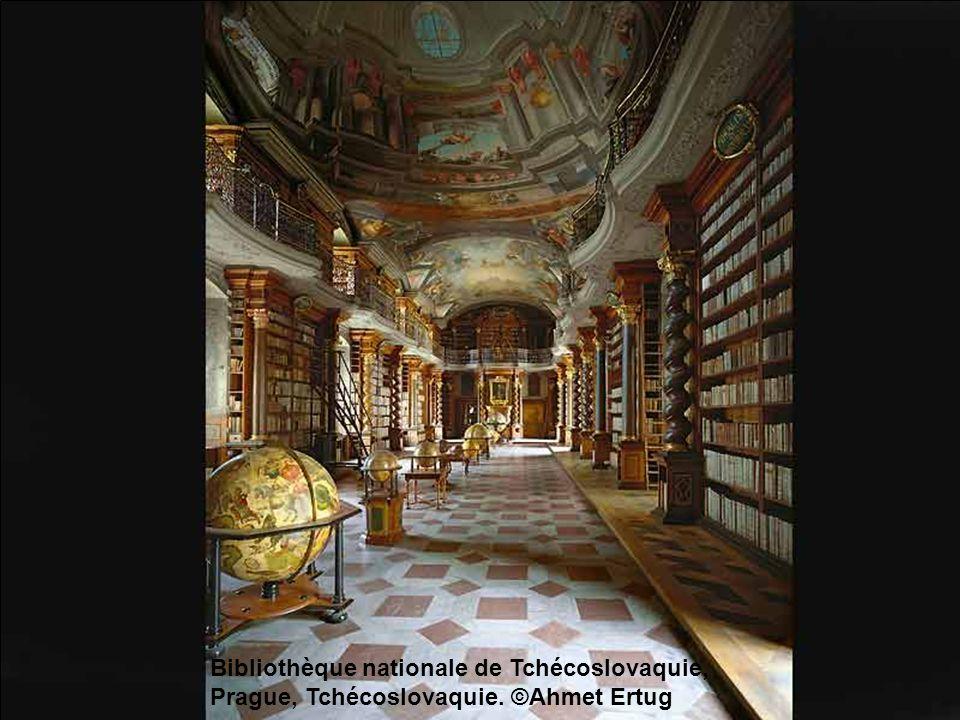 Bibliothèque de lAbbaye de Saint-Gallen, Suisse. ©Ahmet Ertug
