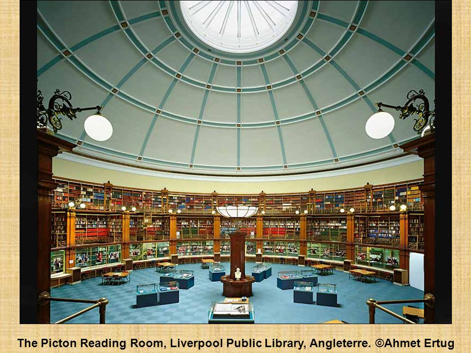 The Picton Reading Room, Liverpool Public Library, Angleterre. ©Ahmet Ertug