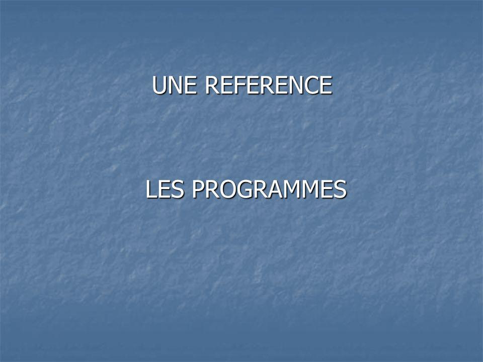 Programmes 2002 Programmes 2008 Réaliser une performance mesurée pour différents types defforts, de différentes façons, dans des espaces et avec des matériels variés, à une échéance donnée.
