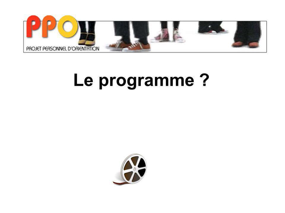 Le programme ?
