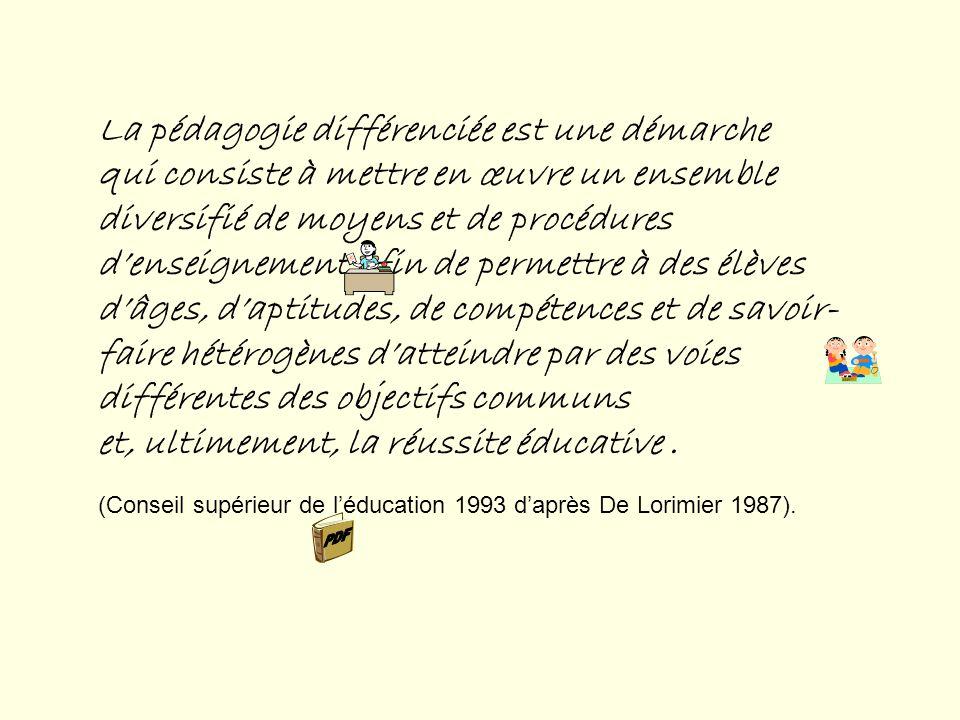 S UJET O BJET A GENT Conseillers pédagogiques de la CSMV Différenciation pédagogique (finalités, définition, processus de mise en œuvre) Isabelle et F