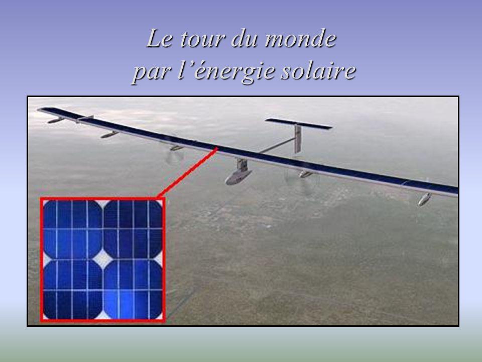 Le tour du monde par lénergie solaire