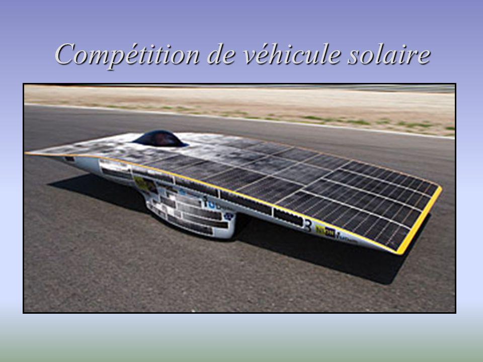 Compétition de véhicule solaire