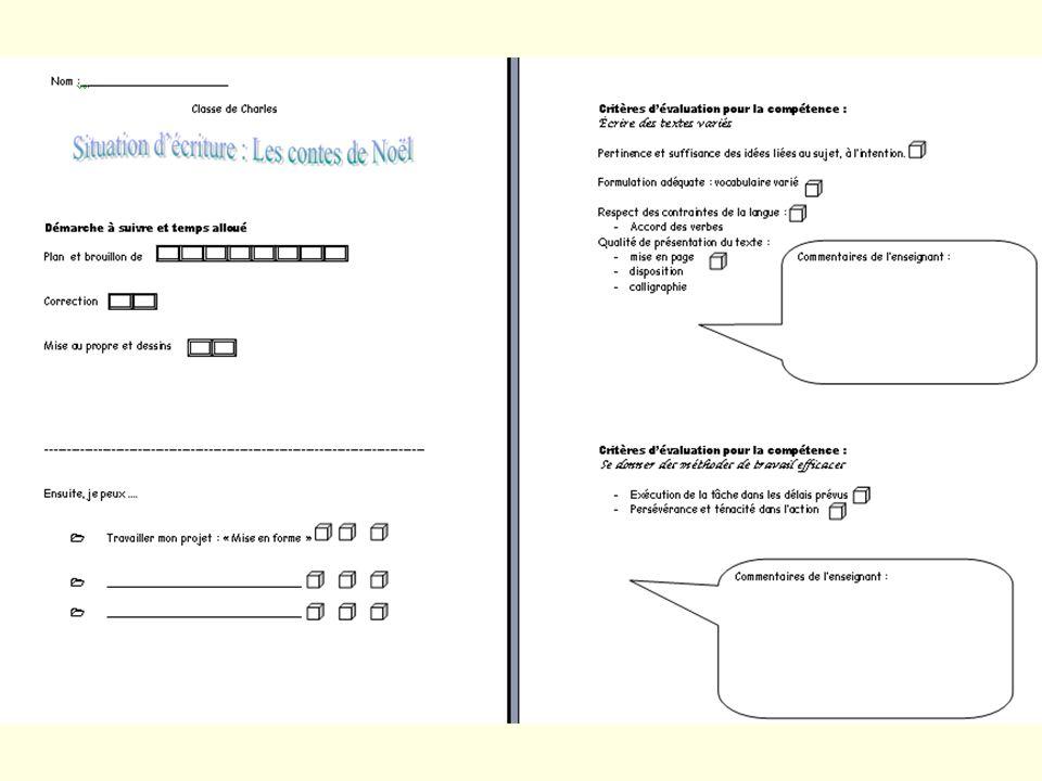 Action 4 Sujets et agents 1- Les élèves complètent loutil diagnostique pour découvrir leur style avec laide de leurs enseignants..2a) Les élèves utilisent leur feuille de route dans le cadre des projets et tâches.