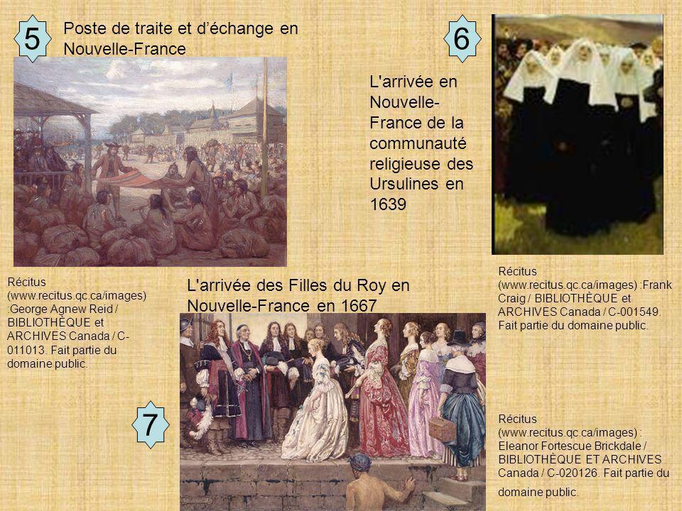 Document de travail 7 65 Récitus (www.recitus.qc.ca/images) :Frank Craig / BIBLIOTHÈQUE et ARCHIVES Canada / C-001549.