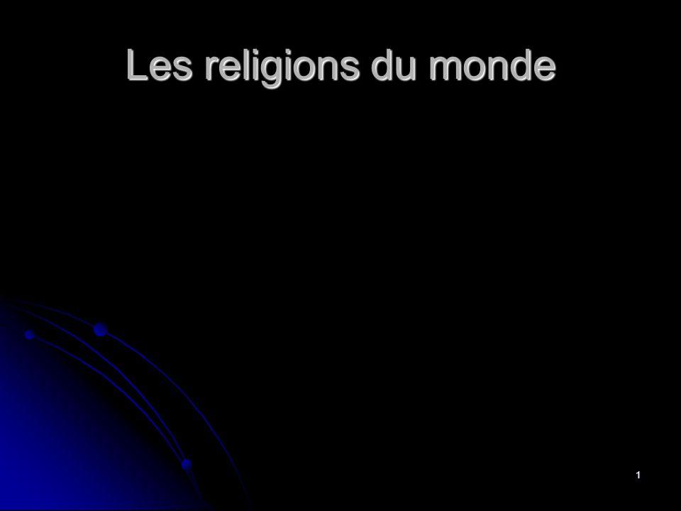 1 Les religions du monde