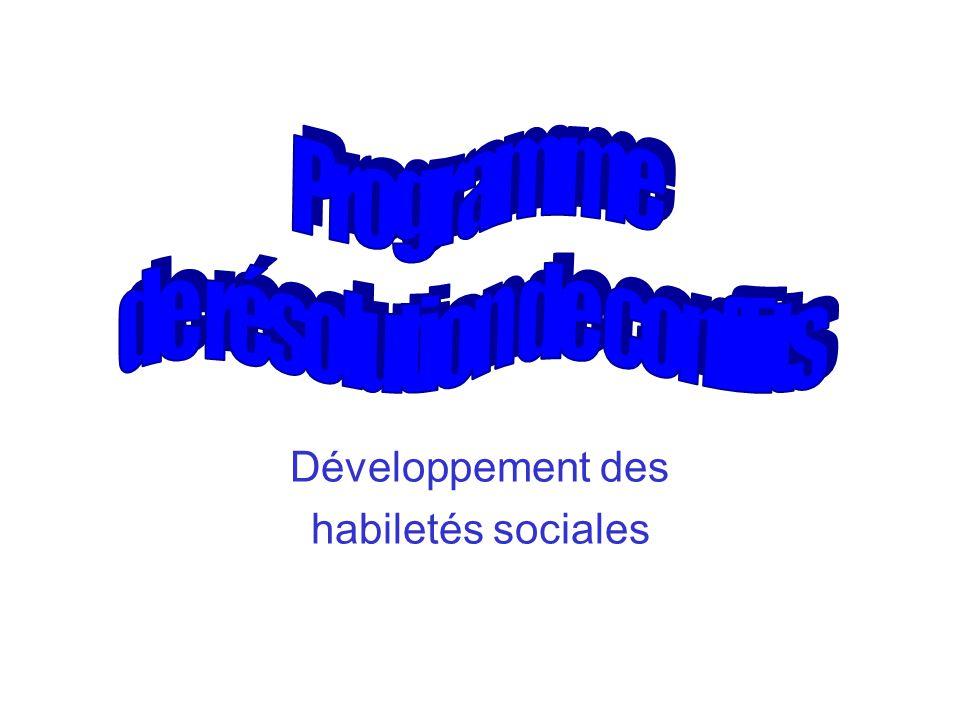 Développement des habiletés sociales