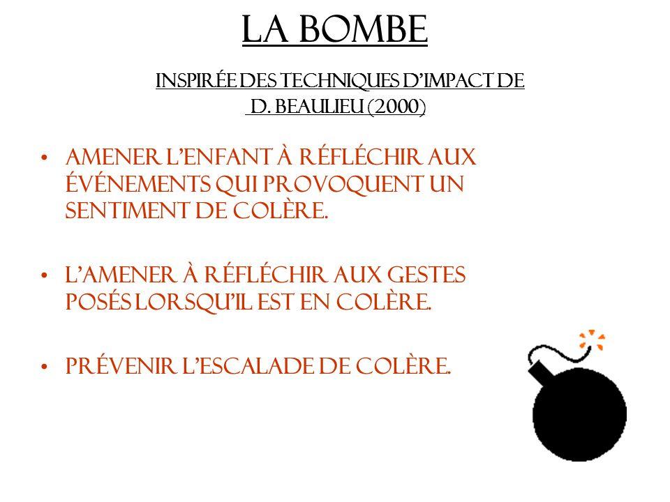 La bombe Inspirée des techniques dimpact de D.