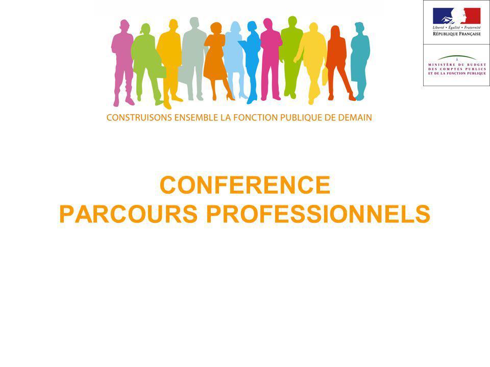 CONFERENCE PARCOURS PROFESSIONNELS