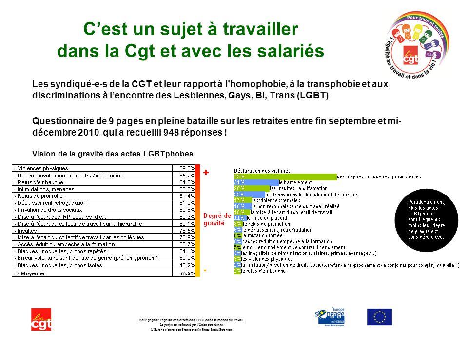 Un film de la marche des fiertés LGBT de Paris 2011 très instructif … Pour gagner légalité des droits des LGBT dans le monde du travail.