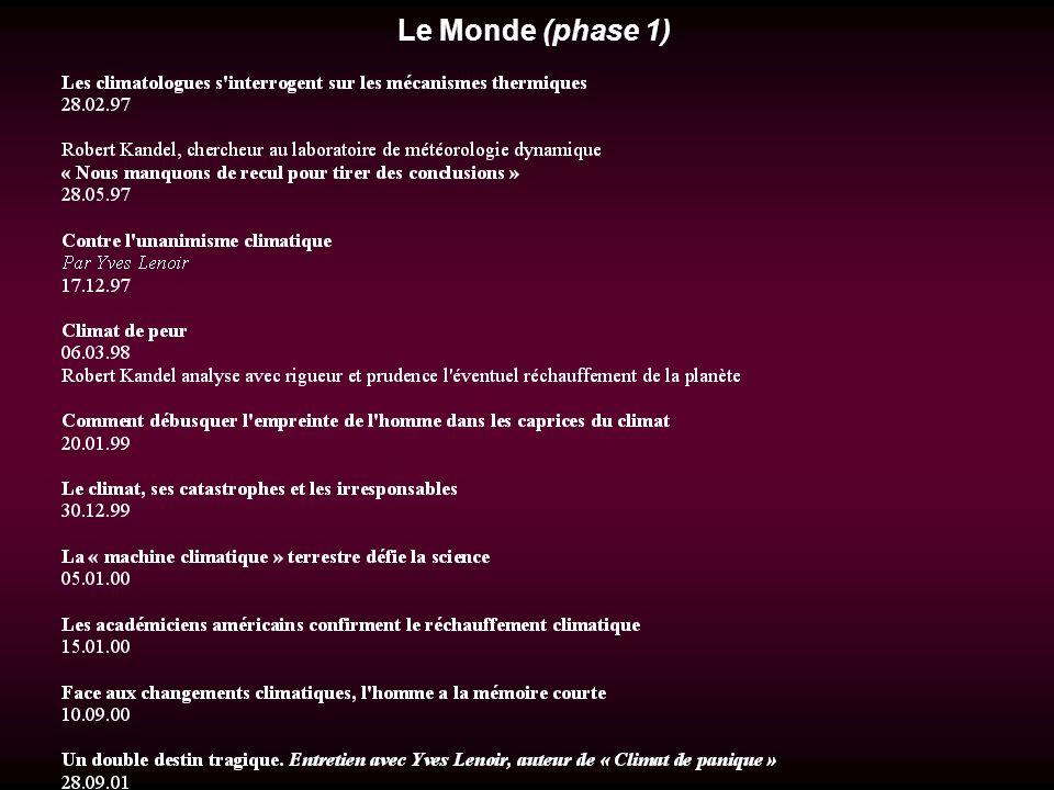 Le Monde (phase 1)