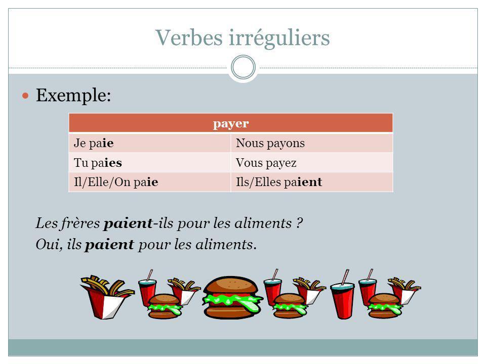 Négation du verbe ne + [verbe] + pas Exemples: Est-ce que tu chantes bien .