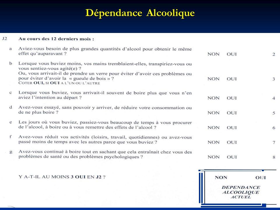 12 Dépendance Alcoolique / Abus dAlcool