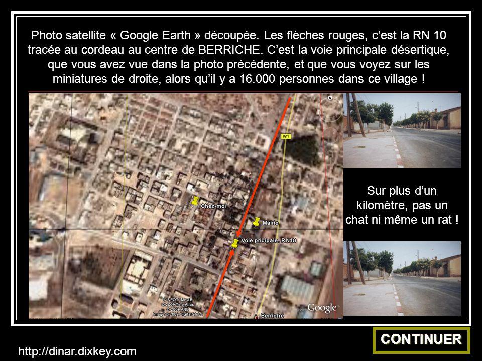 Photo satellite « Google Earth » découpée.