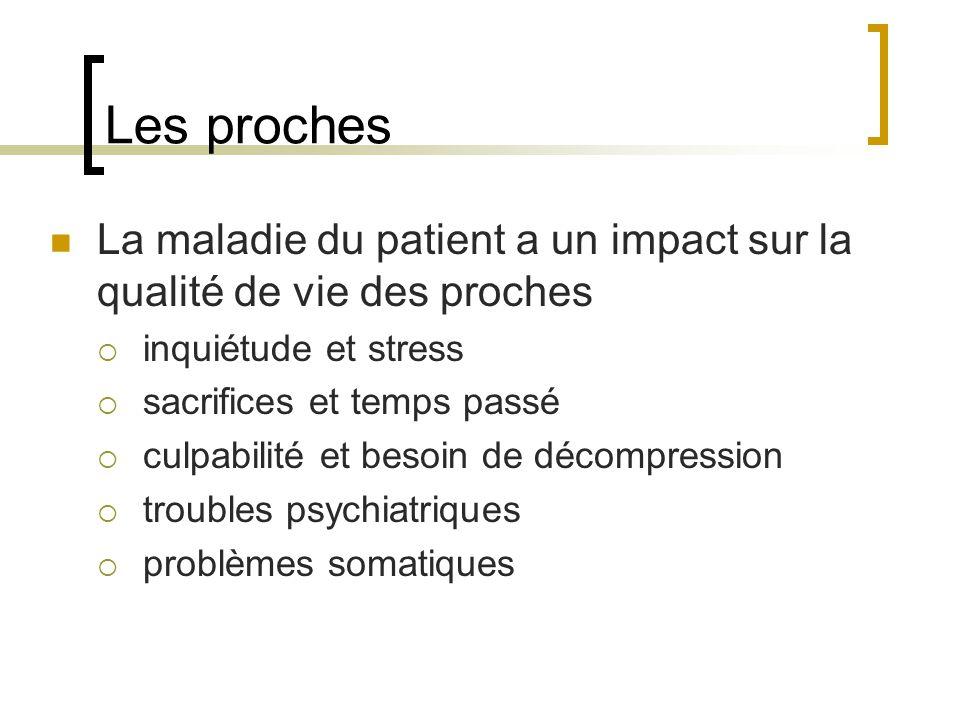 Facteurs à prendre en compte Une bonne connaissance de la pathologie est indispensable Laffection en elle-même 1.