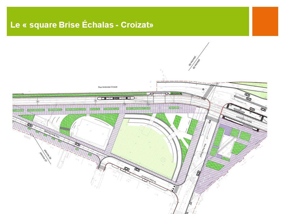 Le « square Brise Échalas - Croizat»