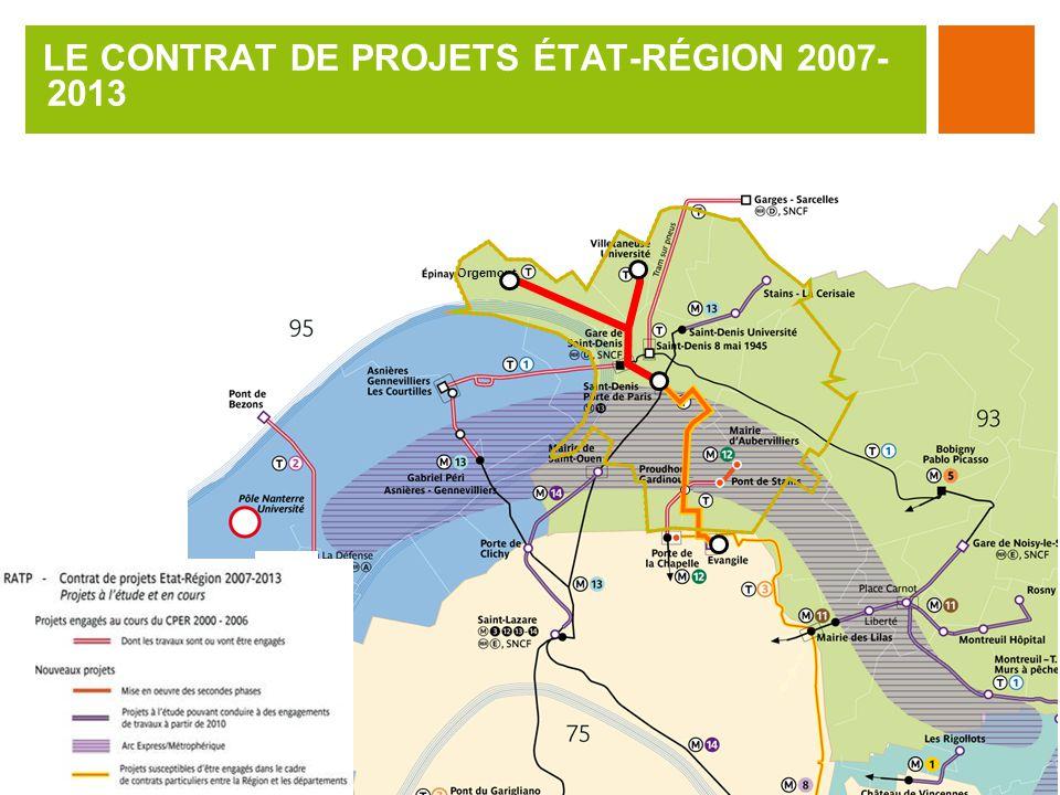 LE CONTRAT DE PROJETS ÉTAT-RÉGION 2007- 2013 Orgemont