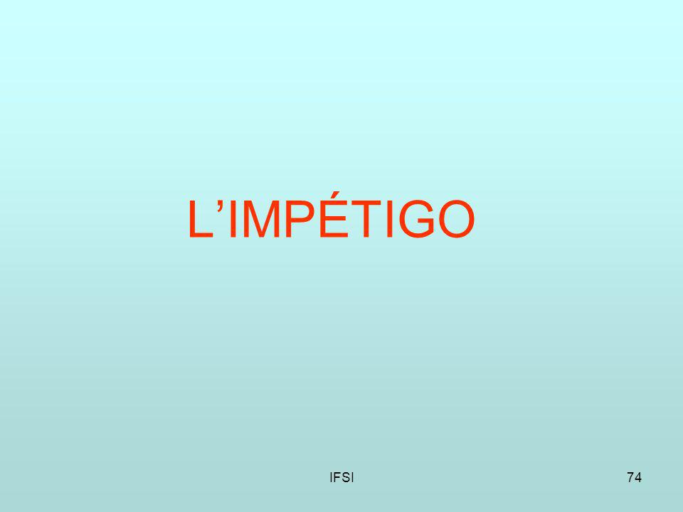 IFSI74 LIMPÉTIGO