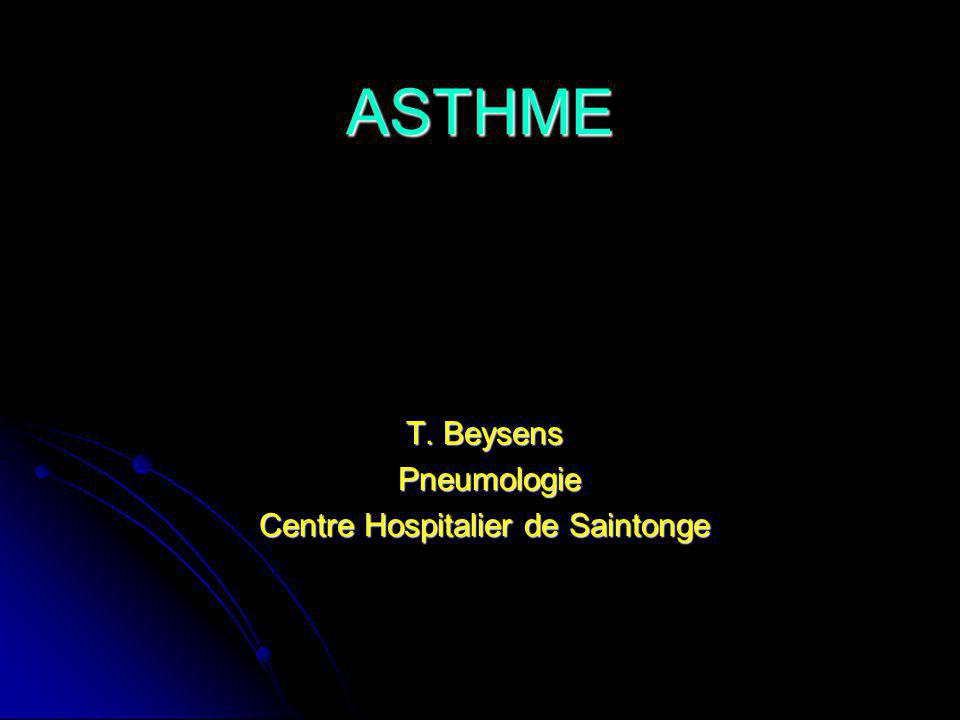 ASTHME T.Beysens T.
