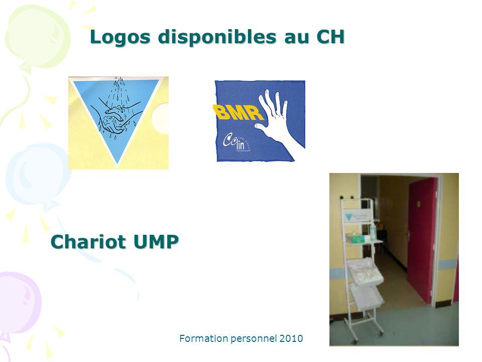 Formation personnel 2010 Logos disponibles au CH Chariot UMP