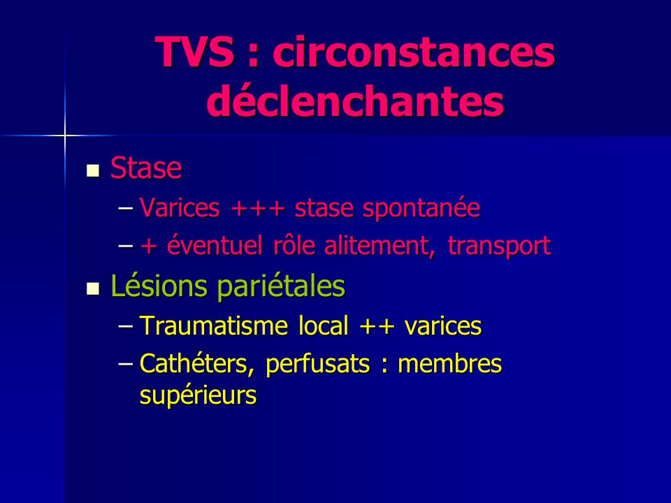 TVS : Echo doppler