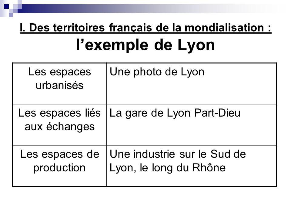 Lyon, un espace urbain central