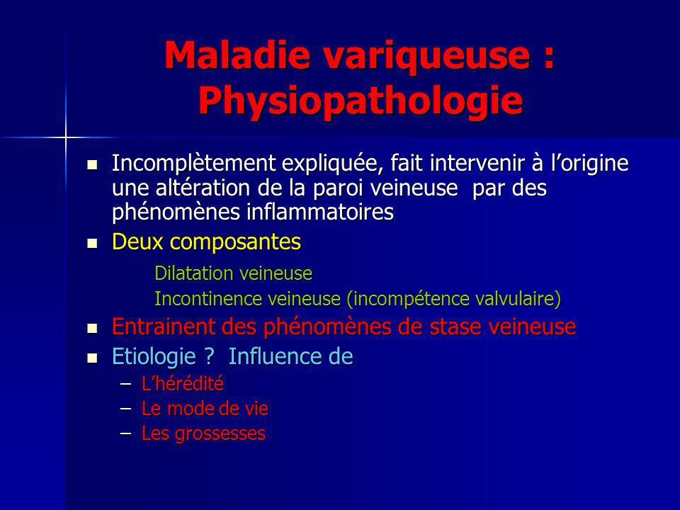 Maladie variqueuse : Traitement conservateur Contention Contention Veinotoniques Veinotoniques