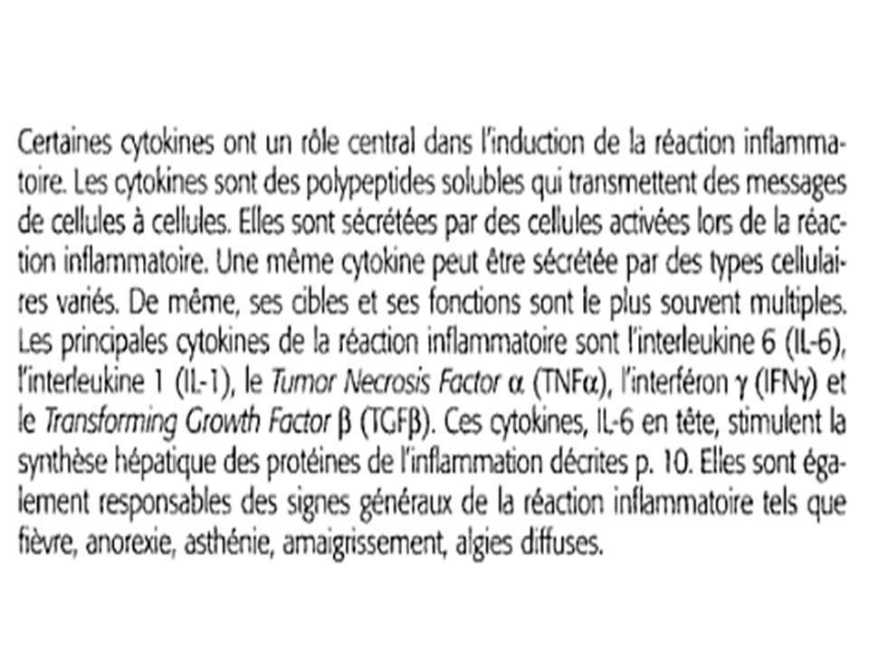 Les protéines de linflammation EPP
