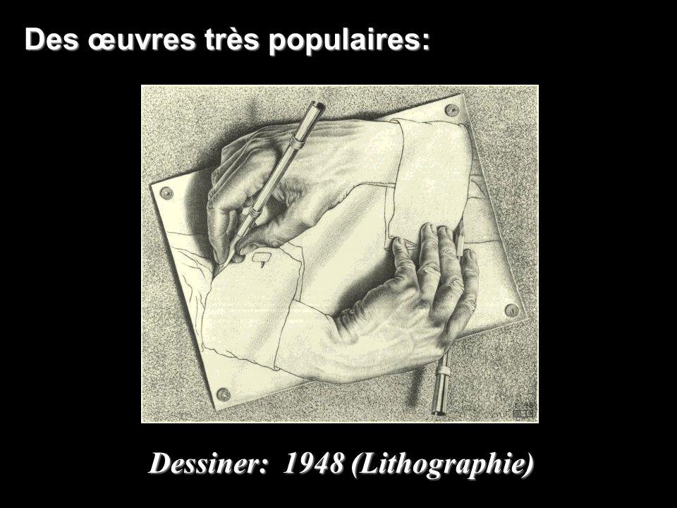 Des œuvres très populaires: Dessiner: 1948 (Lithographie)