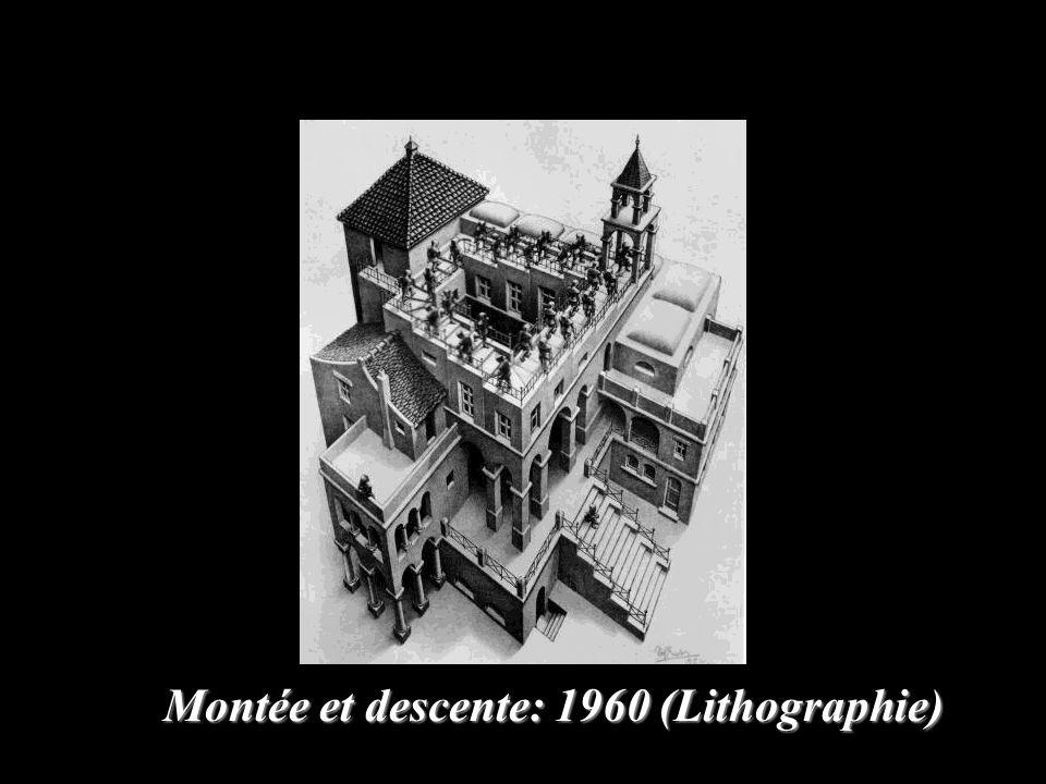 Montée et descente: 1960 (Lithographie)