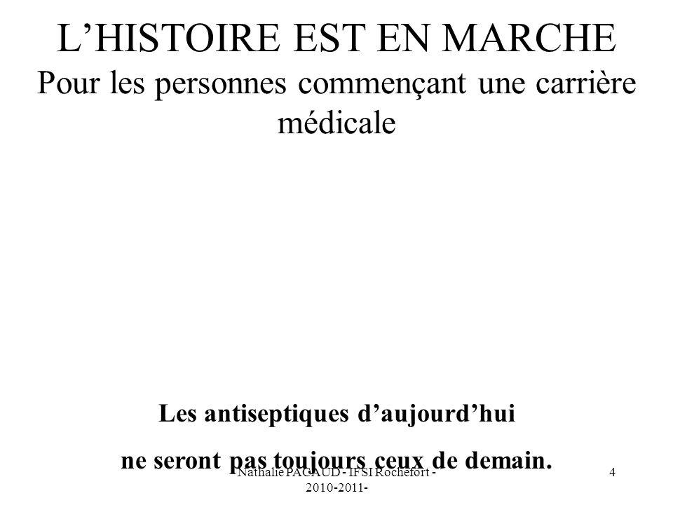 Nathalie PACAUD - IFSI Rochefort - 2010-2011- 15 ANTISEPTIQUE IDÉAL EFFET LÉTAL DANS UN TEMPS TRÈS COURT ACTION PROLONGÉE ( Rémanence ) BIEN TOLÉRÉ ACTION LOCALE PEU INHIBÉ PAR LES MATIÈRES ORGANIQUES AVOIR UN CONDITIONNEMENT ADAPTÉ À LA PRATIQUE