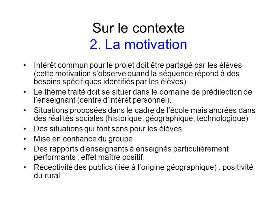 Sur les apprentissages 3.