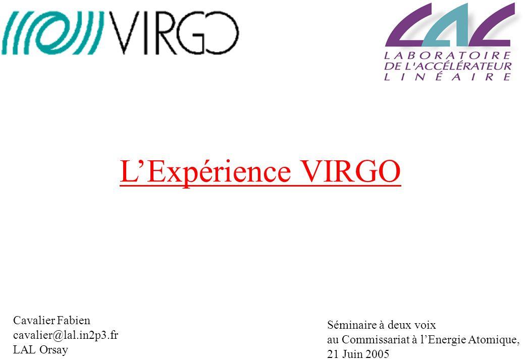 La Sensibilité de Virgo Si tous les bruits technologiques sont contrôlés