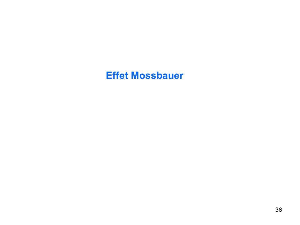 36 Effet Mossbauer