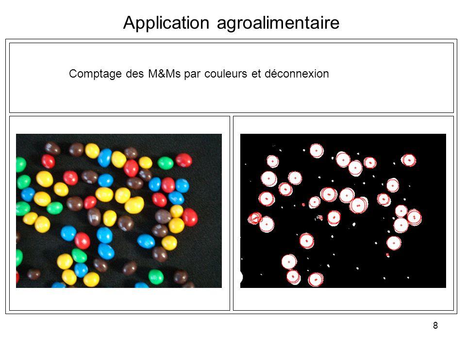 8 Application agroalimentaire Comptage des M&Ms par couleurs et déconnexion