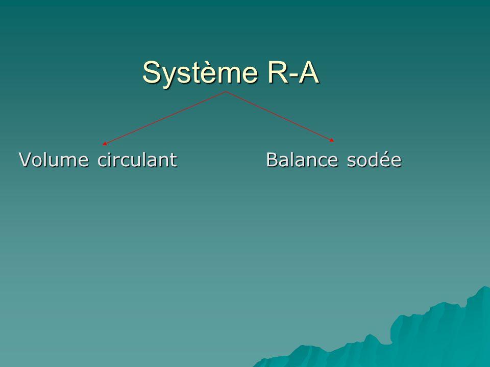 Système R-A Volume circulant Balance sodée