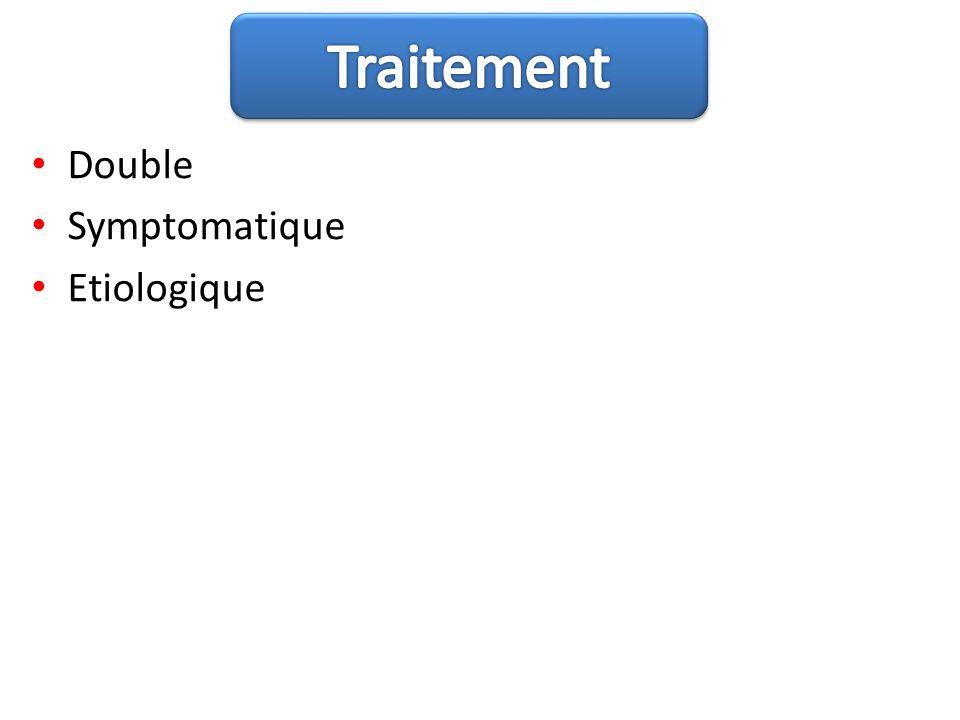Double Symptomatique Etiologique