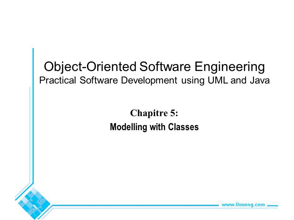 © Lethbridge/Laganière 2001 Chapter 5: Modelling with classes72 Collaboration d Changer la destination dun lien e.g.
