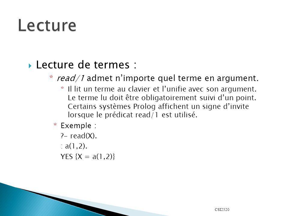 CSI2520 notre-insert(A,L,[A|L]).notre-insert(A,[X|L], [X|LL]) :- notre-insert(A,L,LL).