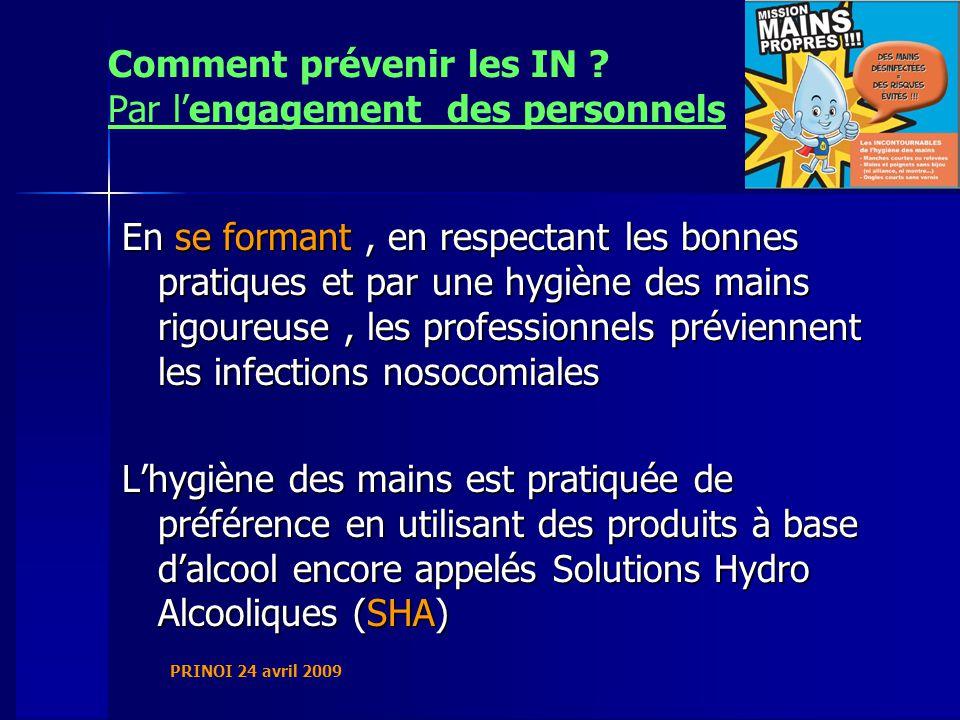 PRINOI 24 avril 2009 Comment prévenir les IN .