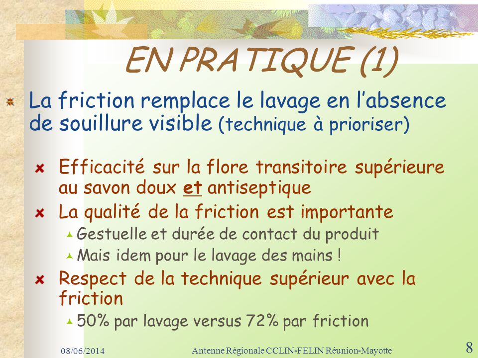 08/06/2014 Antenne Régionale CCLIN-FELIN Réunion-Mayotte 39 Conclusion Cest au-delà des mots que se font les vraies adhésions (Patrick SEGAL) Changeons nos comportements