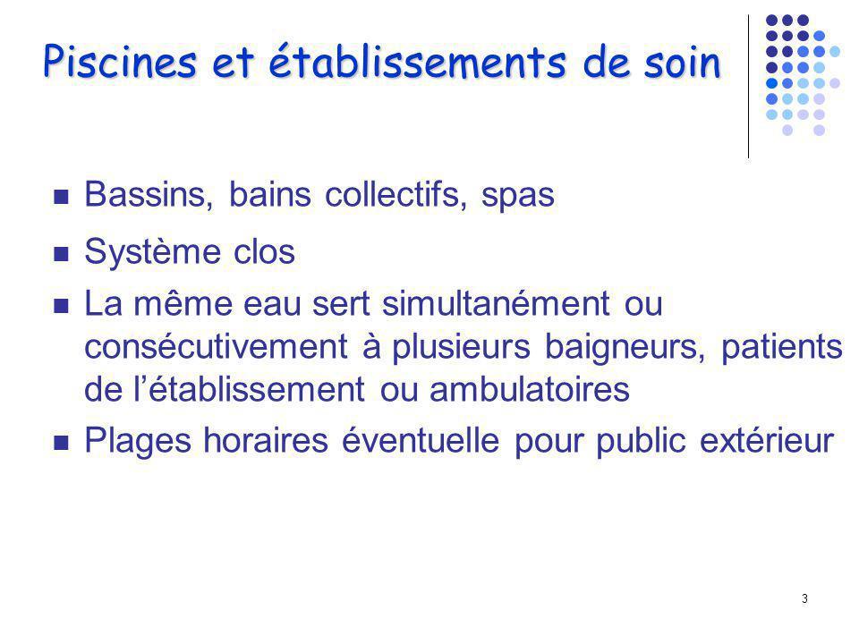 2 La piscine et la balnéothérapie sont de pratique courante en Médecine Physique et de Réadaptation.