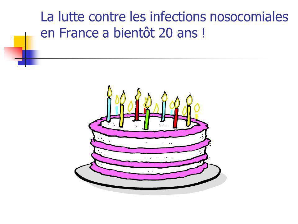 Décret du 6 décembre 1999 relatif à l organisation de la lutte contre les infections nosocomiales Chaque établissement de santé organise en son sein la lutte contre les infections nosocomiales, y compris la prévention de la résistance bactérienne aux antibiotiques.