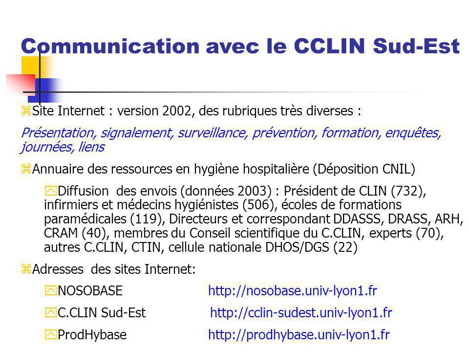 zSite Internet : version 2002, des rubriques très diverses : Présentation, signalement, surveillance, prévention, formation, enquêtes, journées, liens
