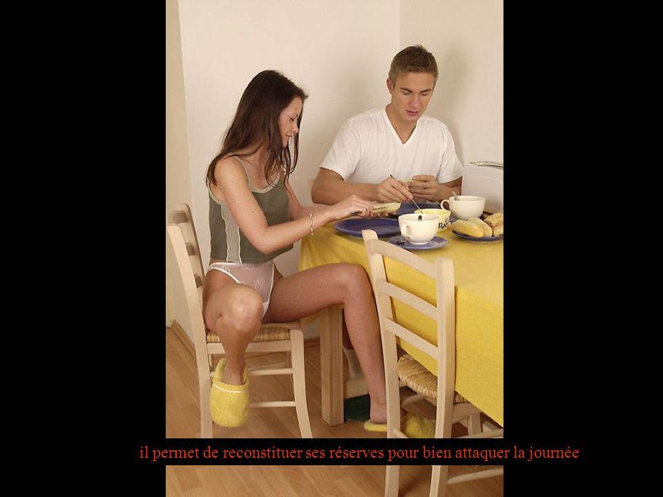 La composition idéale dun petit déjeuner : une boisson chaude, un produit laitier