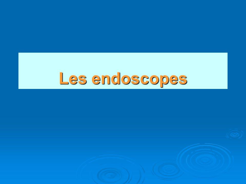 Les Canaux de l endoscope 1.Canal à Air 2. Canal Irrigation 3.