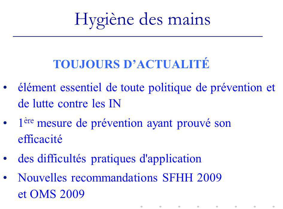 Efficacité bactériologique des SHA 12 3 /Antiseptique