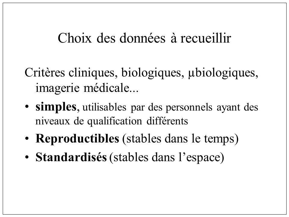 Enquêtes transversales Mesure de la prévalence Rapidité de réalisation Simplicité Coût Résultats descriptifs Difficulté pour affirmer lenchaînement chronologique Biais de sélection P = I x D +-